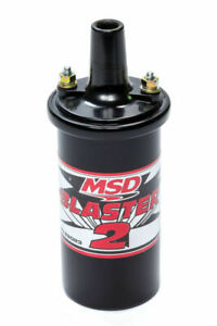 Msd Ignition 82023 Blaster 2 Ignition Coil Black Coil 8202 Fits 6al 6a Box