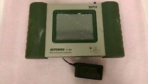 Spx Autoboss V30 Vehicle Diagnostic Computer Cracked Screen For Parts