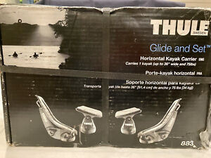 Thule 883 Glide And Set Horizontal Kayak Carrier In Box Never Opened