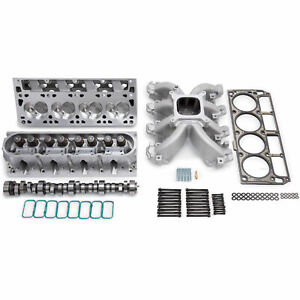 Edelbrock 2083 Power Package Top End Kit 2004 later 6 0l Ls2 Without Timing Cont