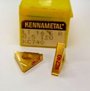 5 Pieces Kennametal 16er 0 5iso Kc740 Carbide Inserts F913