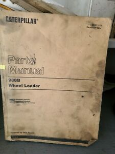 Cat Parts Manual 988b Wheel Loader