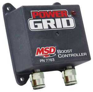Msd Ignition Boost timing Control Module For Power Grid 7763