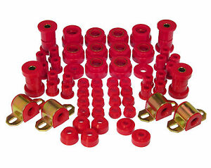 Prothane For 1980 1986 Jeep Cj5 Cj7 Total Complete Suspension Bushing Kit Red