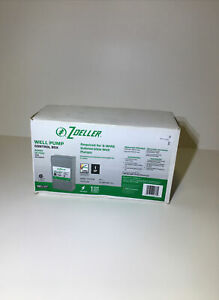 Well Pump Control Box New Zoeller 230v 3 Wire plus Ground Free Same Day Ship