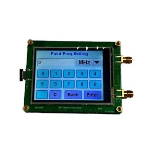 35m 4 4g Rf Signal Generator Source Board Frequency Generator Usb Cable Touch