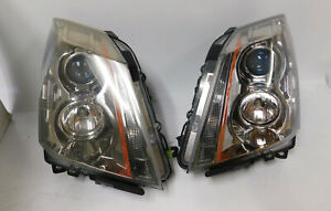 2008 2009 10 11 12 13 14 2015 Cadillac Cts Set Right Left Halogen Oem