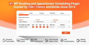 Bookly Pro V3 7 23 Addons Appointment Booking And Scheduling Software System