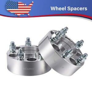 2pcs For Jeep Grand Cherokee Wrangler Liberty 2 Hubcentric Wheel Spacers 5x4 5