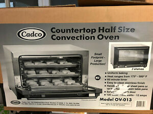 Cadco Half Size Convection Oven