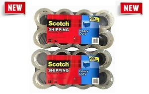 16 Rolls Scotch 3m Heavy Duty Shipping Packaging Tape 1 88in X 54 6yd Free Ship
