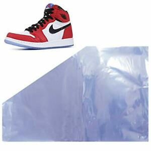 Shoe Shrink Wrap Bags Large Shoes Protector Lightweight Storage 18x11 50 Pcs New