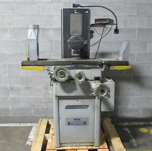 Reid Rollerway Model Hr Surface Grinder W Sony Ly 201 Magnescale Dro