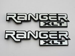 Ford Ranger Xlt Oem Factory Side Fender Emblems