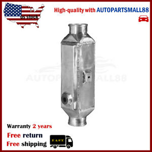 Univerasl Water To Air Intercooler Core Size 13 5 X4 X3 5 In Out 2 5 Long Flow
