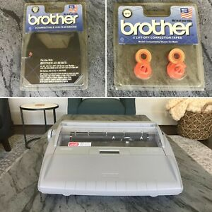 Brother Sx 4000 Typewriter Excellent Working W Lcd Digital Display Extras