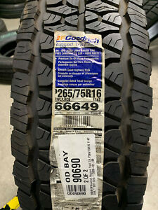2 New P 265 75 16 Bfgoodrich Rugged Trail T a Tires