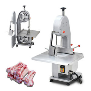 Commercial Electric Bone Sawing Machine Frozen Meat Fish Steak Cutting Tool 110v