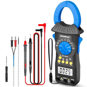 6000 Counts Digital Clamp Meter Multimeter With Trms For Ac dc Current Volt Test