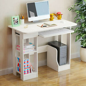Gaming Computer Desk Pc Workstation Study Table Home Office Writing Table Wood