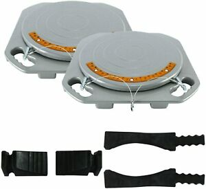 1 Pair Durable Car Truck Front End Wheel Alignment Turn Plate Table Tool Kit Us