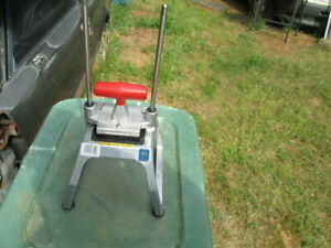Commercial Redco Insta Cut 3 5 French Fry Cutter cut 3 8 10mm Cut Used