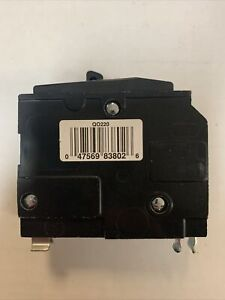 Square D Qo220 20 Amp 2 Pole Circuit Breaker
