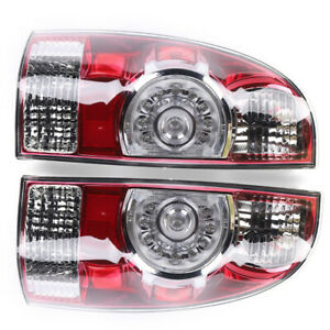 Left right Brake Lamps Led Tail Lights For 2005 2012 2014 2015 Toyota Tacoma
