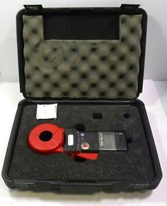 Clamp on Ground Resistance Tester Aemc 3711 Instruments Free Shipping