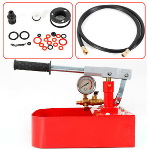1000psi Iron Water Pipe Line Leakage Pressure Test Pump Tester Heating System Us