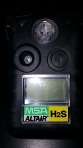 New 24 Month Msa Altair Hydrogen Sulfide Gas Monitor h2s