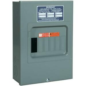 Square D By Schneider Electric Hom612l100scp Homeline 100 Amp 6 space 12 circuit