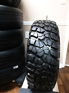 1 Single Used 35x12 50xr15 Lt 113q Bfgoodrich Mud Terrain T A Km2 High Tread