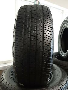 1 Single Used 265 70 16 112t Goodyear Wrangler Fortitude H T Good Used