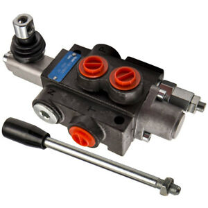 1 Spool Hydraulic Solenoid Directional Control Valve 13gpm Hand Control