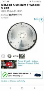Ford 4 6 5 4 Mcleod 6 Bolt Aluminum Flywheel