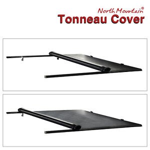 Black Soft Roll up Tonneau Cover Assembly Fit For 16 21 Tacoma 5 Fleetside Bed
