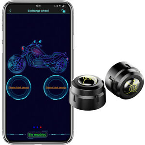 Bluetooth Car Tire Pressure Monitor System Temperature Tpms Supports Android
