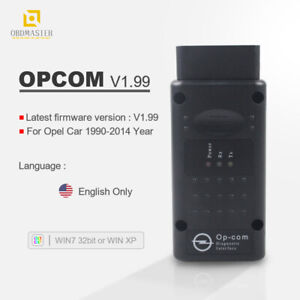 Obd2 Op Com Usb Can 1 99 With Pic18f458 Chip Opcom V1 99 For Opel Scan Op Com