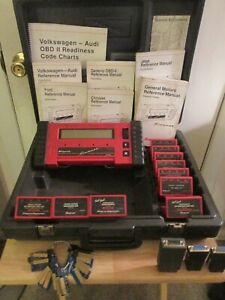 Snap on Mt2500 Scanner W 10 Cartridges 22 Personality Keys Manuals Plugs Exc