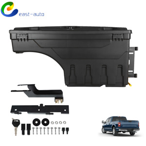 Wheel Well Storage Tool Box W lock Left For Ford F 150 15 20 Pickup Truck Bed
