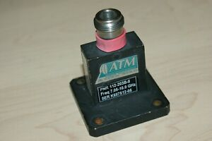 Atm Microwave Wr112 N Coax Adapter 7 05 10 Ghz X Band