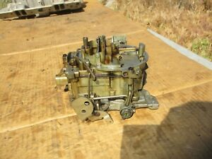 1971 Chevy 704106 Truck 402 Carburetor Carb Quadrajet Q jet Big Block