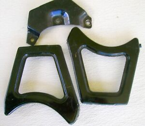 1955 Ford Grill Mounting Brackets Lot Of 3