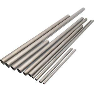 4pcs Od 10mm Id 9mm Length 100mm 304 Stainless Steel Capillary Tube