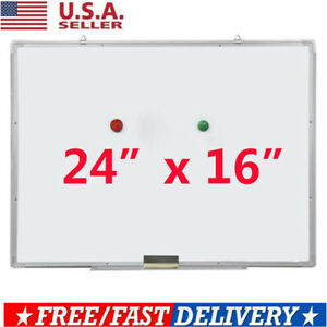 Magnetic Dry Erase Board Double Sided White Board For Home School Office Hw