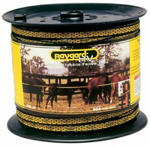 Baygard 00129 656 Yellow Black High Visibility Electric Fence Tape