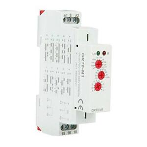 Grt8 m1 Delay Time Relay Multifunctional Time Relay With 10 Functions Din Rail