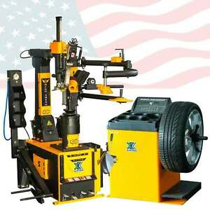 1 5hp 806b350d 70d Tire Changer Wheel Balancer Machine Combo