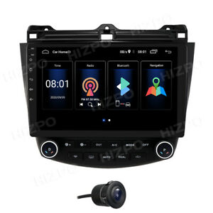 10 1 Gps Android 10 Car Radio Stereo For Honda Accord 2003 2007 2 64gb Wifi A c